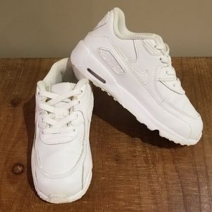 Nike Air Max 90 White Size 10C Toddler